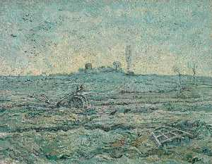 Plough and the Harrow after Millet, The