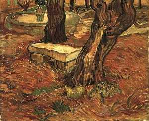 Stone Bench in the Garden of Saint-Paul Hospital, The