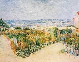 Vegetable Gardens at Montmartre 2