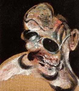 portrait of man with glasses iii, 1963
