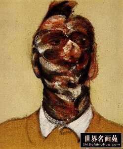 three studies for portrait of george dyer c 1966