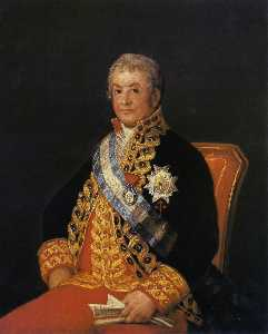Portrait of Jose Antonio, Marques Caballero Kepmesa
