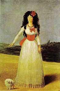 Portrait of the Dutchess of Alba