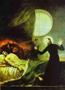 St. Francis Borgia Exorsizing