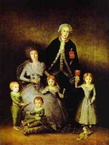 The Family of the Duke of Osuna