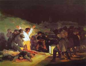 The Third of May, 1808 The Execution of the Defenders of Madrid