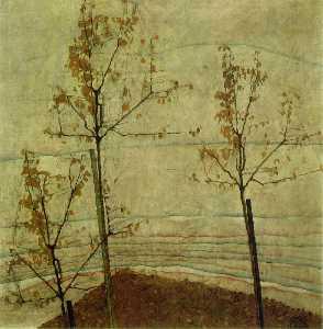 Autumn Trees1911