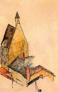 Spitalskirche, Modling