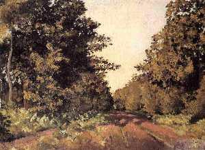Yerres, Woods at la Grange, Path of the Great 'Ha-Ha'