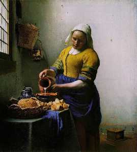 The Milkmaid [c. 1658-60]