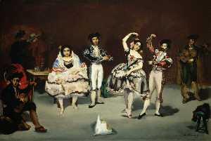 The spanish ballet