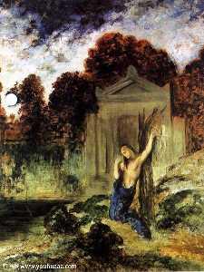 Orpheus on the Tomb of Euridice