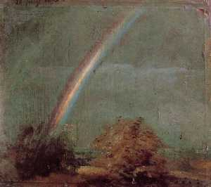 Landscape with a Double Rainbow