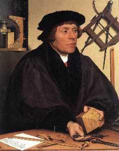 Portrait of Nikolaus Kratzer
