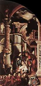 The Oberried Altarpiece (right wing)