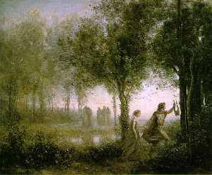 Orpheus Leading Eurydice from da Underworld