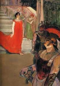The Opera Messalina at Bordeaux