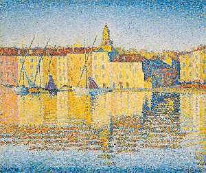 Houses in the Port, Saint-Tropez, Opus 237