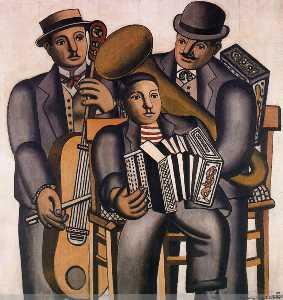 The three musicians
