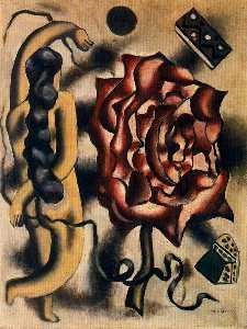 el mujer en el rosa