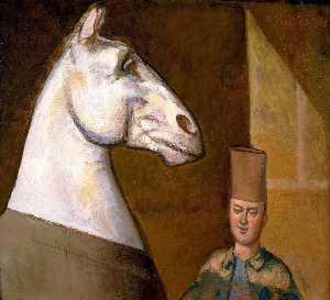 Cavalier marocain et son Cheval