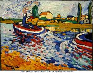 Tugboat on the Seine, Chatou
