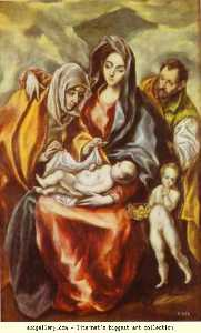 The Holy Family with St. Anne and the Young St. John the Baptist