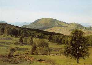Landscape. Hill and Dale
