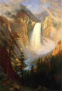 イエローストーンの滝