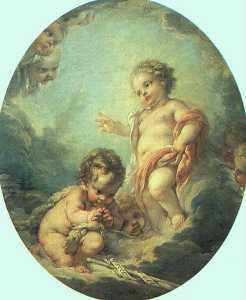 Christ and John the Baptist as Children