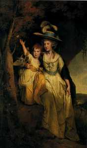 Susannah Hurt with Her Daughter Mary Anne