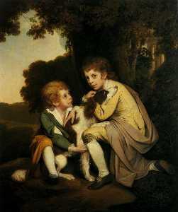 Thomas and Joseph Pickford as Children