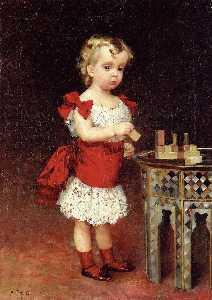 portrait von großherzog andrei wladimirowitsch als kind