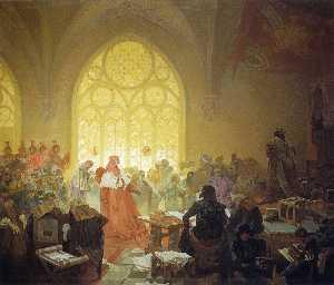 The Hussite King Jiri Z. Podebrad