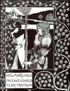 How Morgan Le Fay Gave a Shield to Sir Tristram