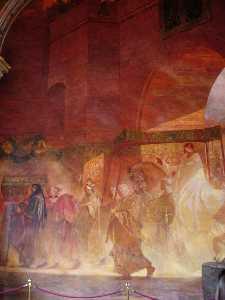 Toulouse Capitole entrée du pape Urbain II