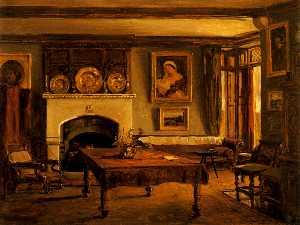 INTERIOR OF THE BRAKE (DINING ROOM)