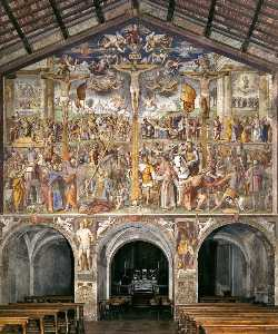 Crucifixion and Scenes from the Life of Christ