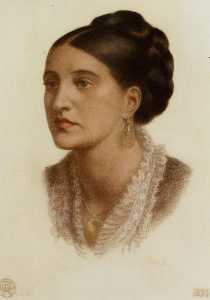 Portrait of Mrs Georgin A Fernandez