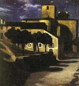 Night Scene in Avila