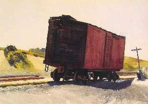 Freight Car at Truro