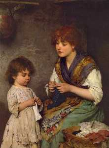 The Knitting Lesson