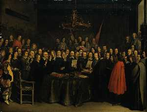 The Ratification of the Treaty of Münster, 15 May 1648 Year