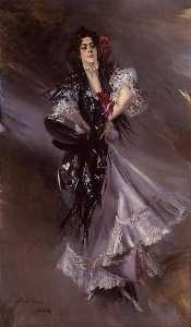 Portrait of Anita de la Ferie - The Spanish Dancer