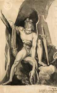 Siegfried Having Slain Fafner The Snake