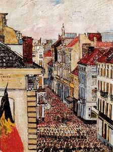 Music in the Rue de Flandre