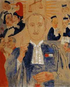Portrait de Monsieur Albert Croquez