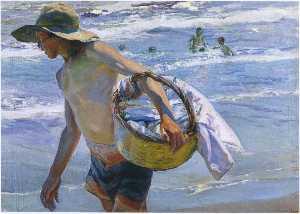 Fisherman in Valencia