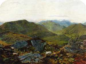 Landscape in the Lake District
