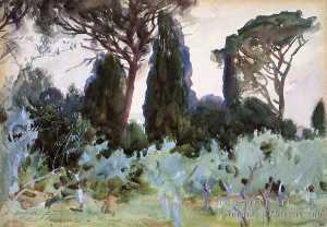 Landscape near Florence